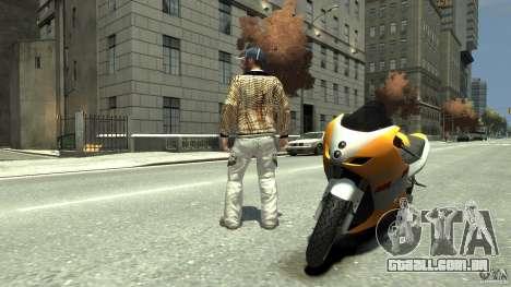 White clothes pack para GTA 4 segundo screenshot