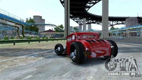 Smith 34 Hot-Rod Restyling para GTA 4 vista interior