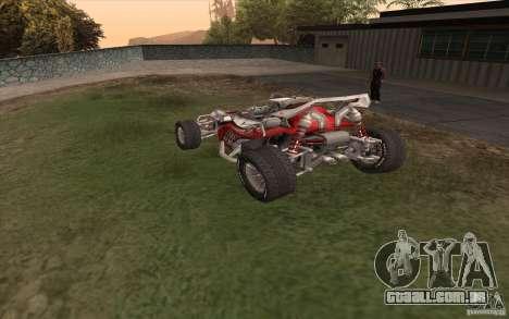Bandito para GTA San Andreas traseira esquerda vista
