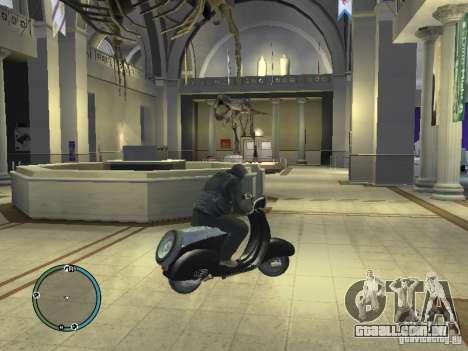 Vyatka motoneta para GTA 4 traseira esquerda vista