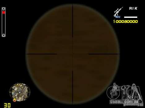 White and Black weapon pack para GTA San Andreas terceira tela