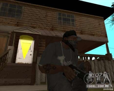 Resident Evil 4 weapon pack para GTA San Andreas