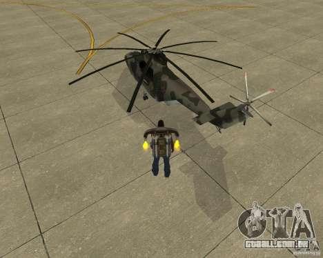 MI-26 para GTA San Andreas esquerda vista
