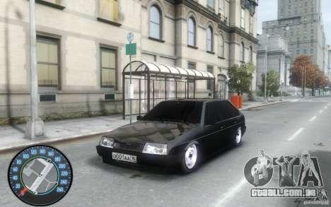 2109 VAZ Daguestão tuning para GTA 4