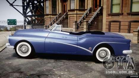 Buick Skylark Convertible 1953 v1.0 para GTA 4 traseira esquerda vista