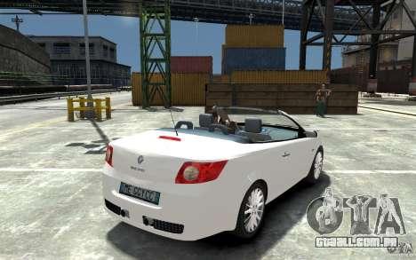 Renault Megane CC Kit RS para GTA 4 vista direita