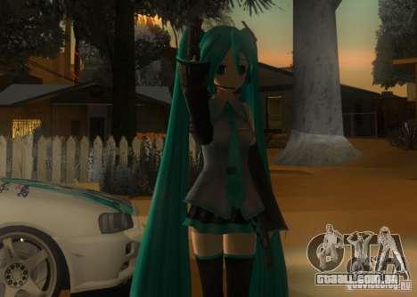 Anime Characters para GTA San Andreas terceira tela