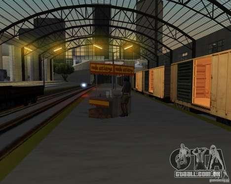 Nova estação ferroviária para GTA San Andreas oitavo tela