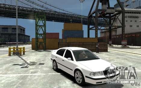 Skoda Octavia v.1.0 para GTA 4 vista inferior