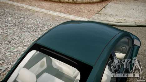 Volkswagen New Beetle 2003 para GTA 4 vista superior
