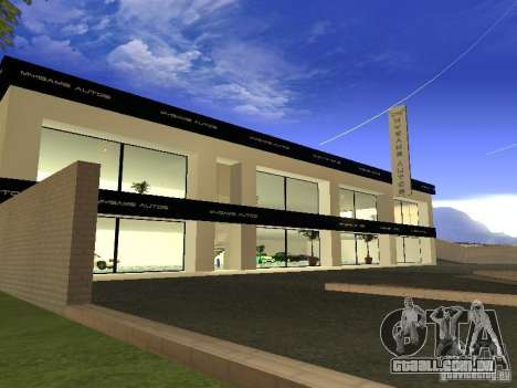 [HD] rede de garagens de automóveis de MyGame para GTA San Andreas segunda tela