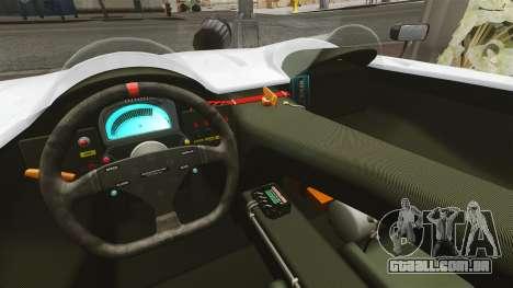 Audi R8 Spider Body Kit Final para GTA 4 vista de volta