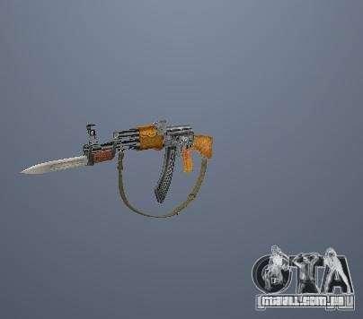Armas de Pak poligonais altas para GTA San Andreas