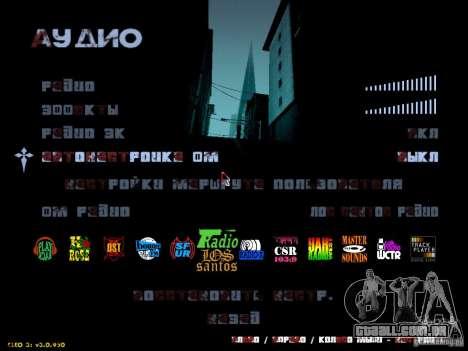 Texto sangrento para GTA San Andreas segunda tela