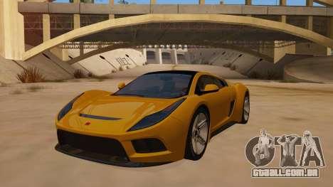 Saleen S5S Raptor 2010 para GTA San Andreas vista traseira
