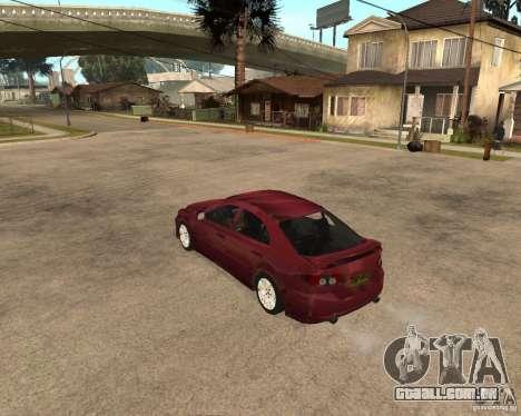 Mazda 6 Sport para GTA San Andreas vista direita