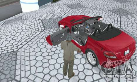 Mercedes-Benz SLK 350 para GTA San Andreas vista traseira