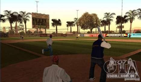 Campo de beisebol animado para GTA San Andreas