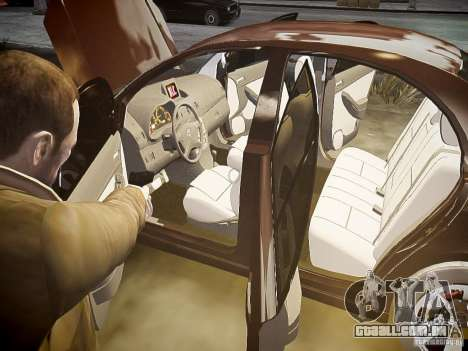 Toyota Avensis para GTA 4 rodas