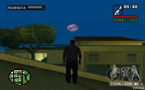 Nibiru-planeta X para GTA San Andreas terceira tela