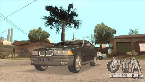BMW 316i E36 para GTA San Andreas vista direita