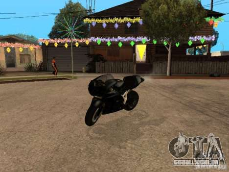 Ducati RS09 para GTA San Andreas esquerda vista