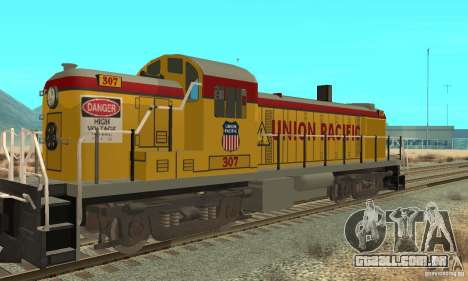RS3 Locomotiva Diesel Union Pacific para GTA San Andreas