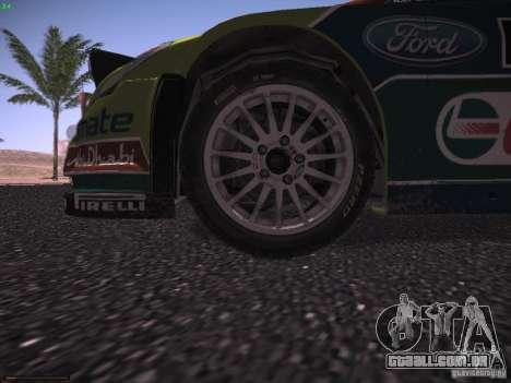 Ford Focus RS WRC 2010 para o motor de GTA San Andreas