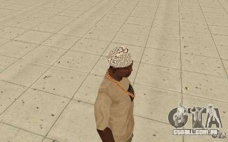 Bandana shamal para GTA San Andreas segunda tela