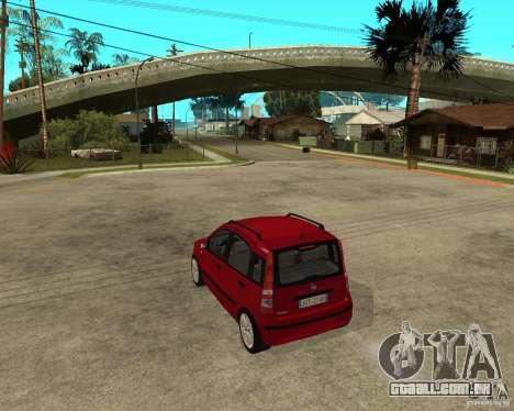2004 Fiat Panda v.2 para GTA San Andreas esquerda vista