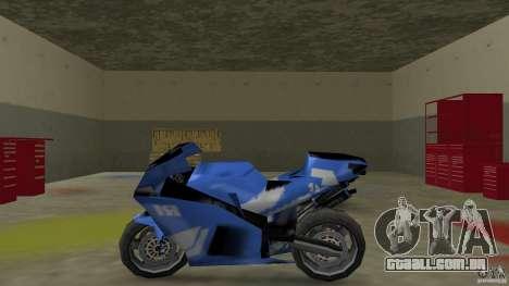 Yamaha YZF R1 para GTA Vice City deixou vista