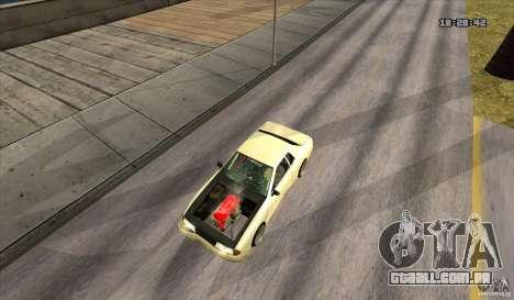 Elegy Drift Style para GTA San Andreas vista direita