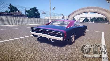 Dodge Charger RT 1969 v1.0 para GTA 4 vista lateral