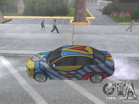 Audi RS 4 para GTA San Andreas vista direita