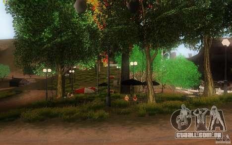 New Country Villa para GTA San Andreas oitavo tela
