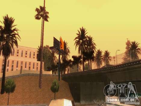 New trees HD para GTA San Andreas sétima tela