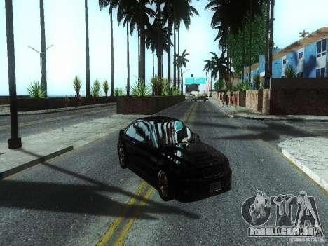ENBSeries Beta para GTA San Andreas por diante tela