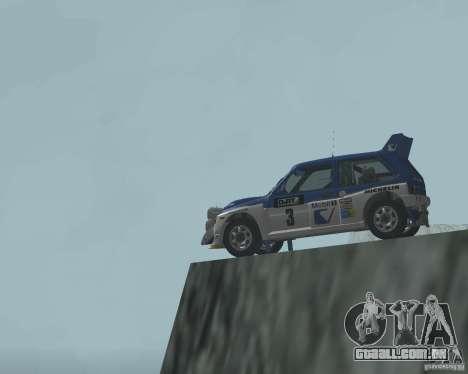 MG Metro 6M4 Group B para vista lateral GTA San Andreas