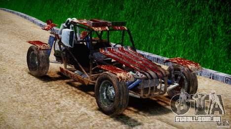 Buggy Avenger v1.2 para GTA 4 vista de volta
