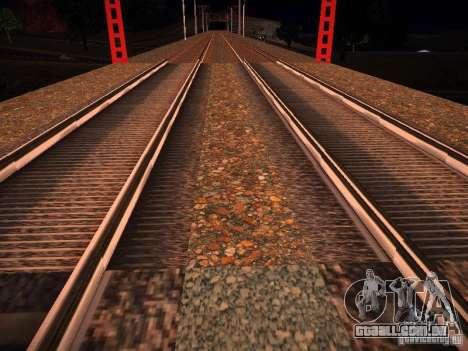 Novos trilhos para GTA San Andreas por diante tela