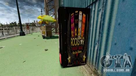 Rockstar energy drink» para GTA 4 segundo screenshot