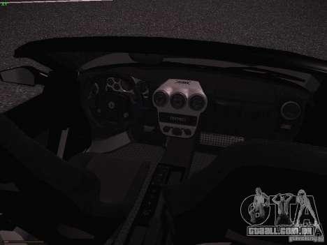 Ferrari F430 Scuderia M16 para GTA San Andreas vista interior
