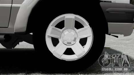 Ford Ranger 2008 XLR para GTA 4 vista de volta