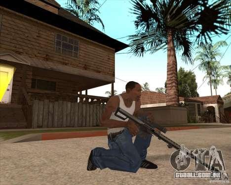 CoD:MW2 weapon pack para GTA San Andreas décima primeira imagem de tela