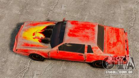 Pássaro de fogo para GTA 4 vista direita