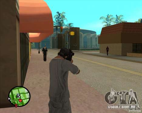 O Rifle de Ross para GTA San Andreas terceira tela