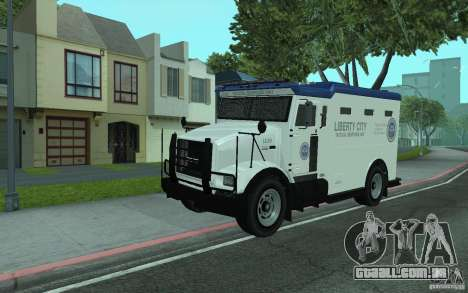 Securicar do GTA IV para GTA San Andreas
