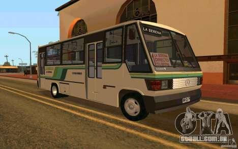 Mercedes-Benz LO-708E para GTA San Andreas esquerda vista