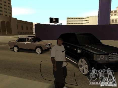 Escudo de armadura de Call of Duty Modern Warfar para GTA San Andreas terceira tela