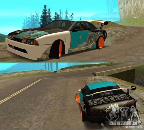 Elegia Nongrata by_k1x para GTA San Andreas